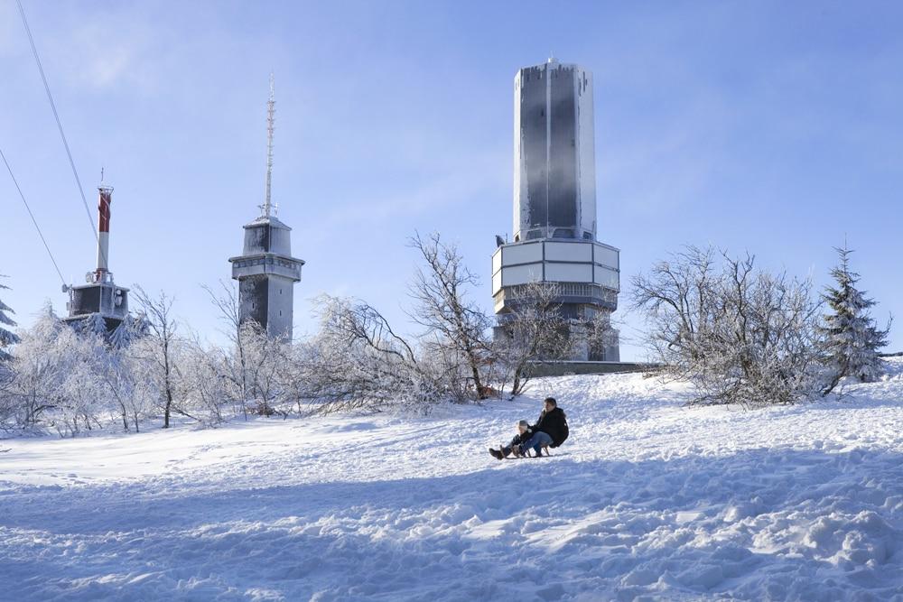 Schneehöhen Taunus