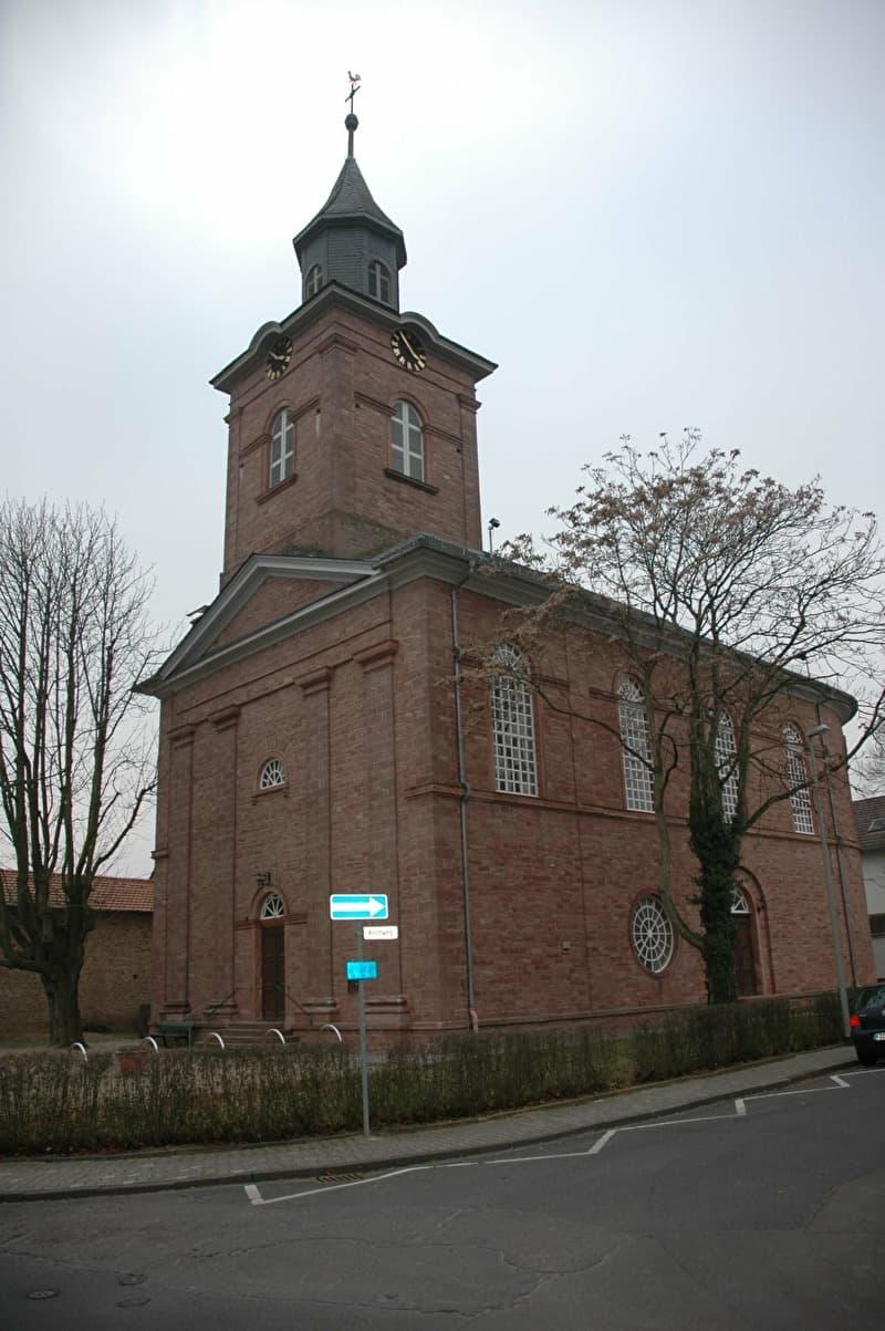 Evangelische Kirche Oberliederbach Liederbach Am Taunus Taunus Info