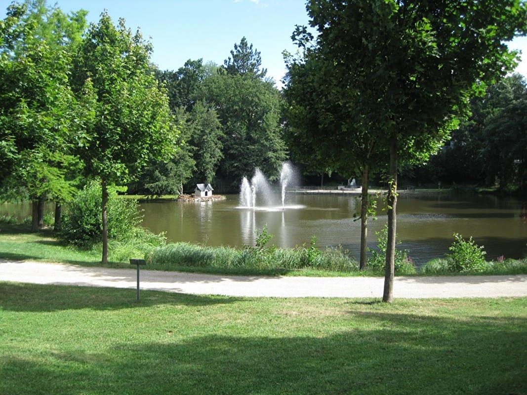 Ein Spaziergang Im Park
